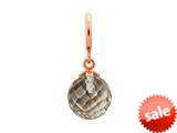 Endless Jewelry Smokey Love Drop Smokey Crystal Rose Gold-Tone Finish style: 634511