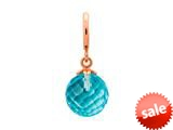 Endless Jewelry Sky Blue Love Drop Sky Blue Crystal Rose Gold-Tone Finish style: 634512