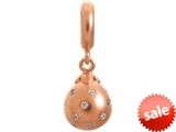 Endless Jewelry White Star Drop White Cubic Zirconia Rose Gold-Tone Finish style: 638501