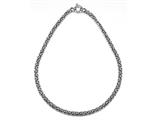 Sterling Silver18 inches Byzantina Necklace style: 630066