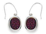 Finejewelers Purple Drusy Hanging Earrings style: 630124