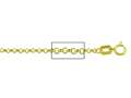 20 Inches - 14 kt Yellow Gold
