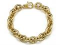 18K Yellow Gold Plated Silver Link Bracelet