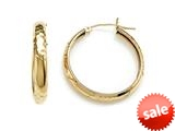 1 Inch Hoop Earrings style: 630018CD