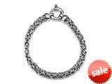 Sterling Silver 7.5 inches Byzantina Bracelet style: 63067