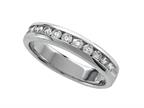 Finejewelers Round Diamonds Band - IGI Certified Style number: 370009