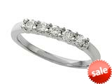 Round Diamonds Band 0.25 cttw - IGI Certified style: 370033