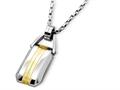 Inori Stainless Steel Pendant Necklace