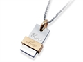 Inori Stainless Steel Holistic Pendant (You and Me)