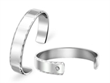 Inori Stainless Steel Bangle Cubic Zirconia (CZ) style: INB24