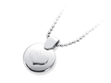 Inori Stainless Steel Circle Enclosed Heart Pendant style: INP62