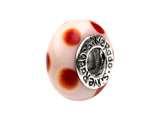 SilveRado™ Murano Glass Carolina Bead / Charm style: AD38