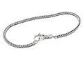 SilveRado™ B-(FTB001-18) Sterling Silver Bundle 3.0mm 7 inch Bead Bracelet