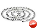 SilveRado™ CNK50 Verado Necklace Sterling Silver Charm Necklace 50cm (19.70 inches Bead / Charm style: CNK50