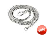 SilveRado™ Necklace Sterling Silver 3.0 mm 45 cm(17.7 inch Bead / Charm style: FTN001-45