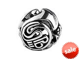 SilveRado™ SRM094 Sterling Silver Focal Musical Instruments Bead / Charm style: SRM094