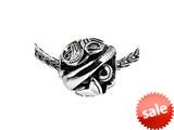 SilveRado™ Sterling Silver Unisex Base Ball Bead / Charm style: SRM166