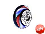 SilveRado™ SW06 Murano Glass Night Rhythm Bead / Charm style: SW06