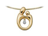 Mother and Child® Heartbeat Pendant Necklace by Janel Russell style: M292Y41M