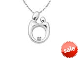 Mother and Child® Pendant Necklace by Janel Russell style: 1906W41M