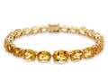 Lali Classics 14kt Yellow Gold 22 Carats Citrine Bracelet