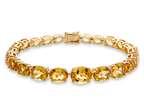 Lali Classics 14kt Yellow Gold 22 Carats Citrine Bracelet Style number: LALI1092