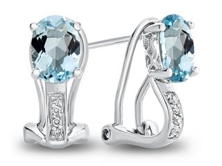 6939afd907995 LALI Classics 14k Aquamarine Oval Earrings | LALI1004 | Finejewelers.com