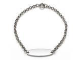 Sterling Silver Children ID Bracelet style: 503317