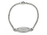 Sterling Silver Children ID Bracelet style: 503357