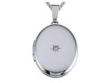 Finejewelers Large Oval Locket Pendant Necklace style: 50971L