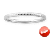 Sterling Silver Childrens 2 Inch Slip On Bracelet style: 503363
