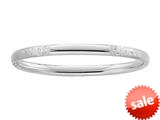 Sterling Silver Childrens 2.25 Inch Slip On Bracelet style: 503405