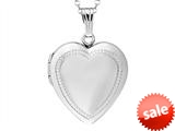 Finejewelers Sterling Silver Adult Oval Locket Pendant Necklace style: 503442