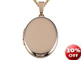 Finejewelers Medium Oval Locket Pendant Necklace style: 50526