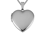 Medium Heart Locket Pendant Necklace style: 50531