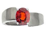 Tommaso Design™ Genuine Garnet Ring style: 22618