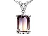 Original Star K™ 12x10mm Rare Genuine Collector Bicolor Ametrine Pendant style: 26255
