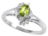 Tommaso Design™ Genuine Peridot Ring style: 301703