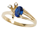 Tommaso Design™ Genuine Sapphire Ring style: 301738