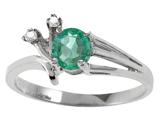 Tommaso Design™ Genuine Emerald Ring style: 301746