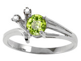 Tommaso Design™ Genuine Peridot Ring style: 301754