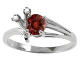 Tommaso Design™ Genuine Garnet Ring style: 301758