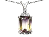 Star K™ Genuine Ametrine Pendant Necklace style: 302107