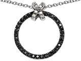 Star K™ Circle Xo Hug and Kiss Pendant Necklace style: 305804