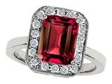 Original Star K™ 10x8mm Emerald Cut Created Ruby Ring style: 307317