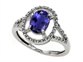 Tommaso Design™ Genuine Iolite Ring