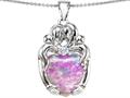 Pink Created Opal