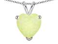 Star K ™ Created Opal 8mm Heart Pendant Necklace