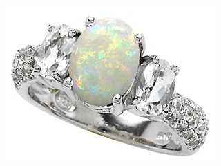 opal enement rings meaning ringscladdagh - Opal Wedding Ring