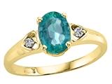 Tommaso Design™ Genuine Emerald Ring style: 21674